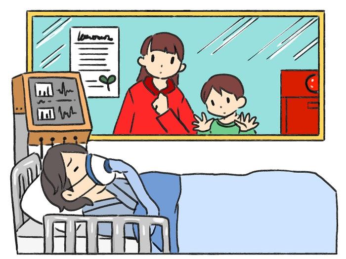 集中治療室のイメージ